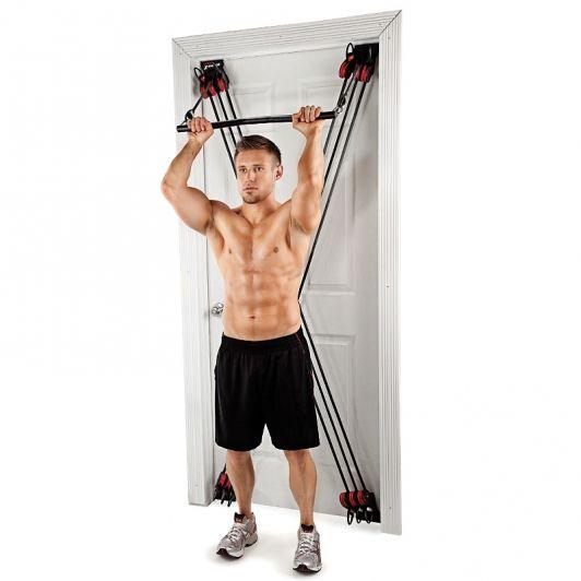 Weider X Factor Door Gym With Dvds Door Gym No Equipment Workout Home Gym Equipment