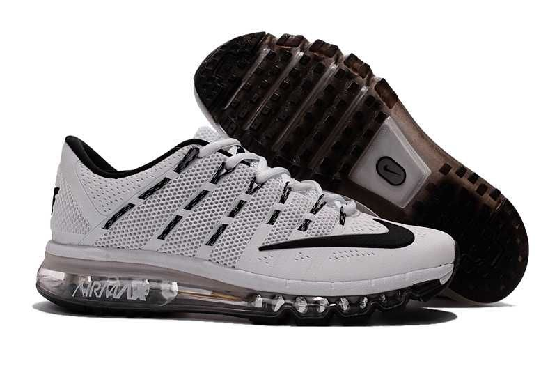 9cbde122aa 1830   Nike Air Max 2016 Dam Herr Svart Vit SE763367bqzVHgYoZ