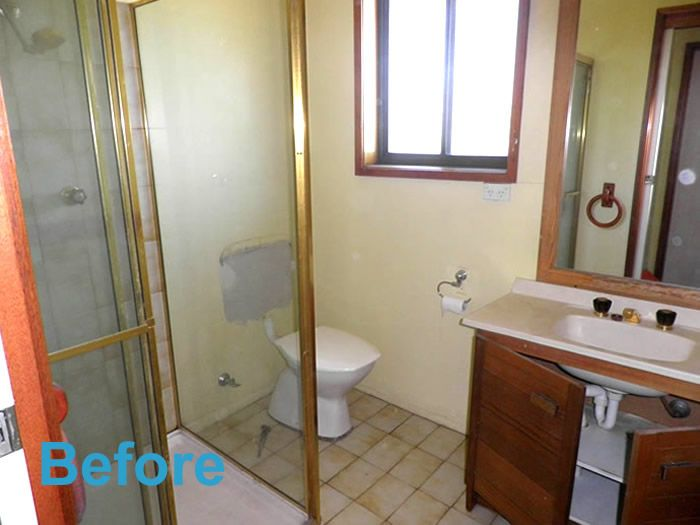 Before U0026 After: A DIY Bathroom Renovation Old House New Tricks   Apartment  Therapy   FREE ESTIMATES Astrong Construction Granger Indianau0027s Bathroou2026 Good Looking