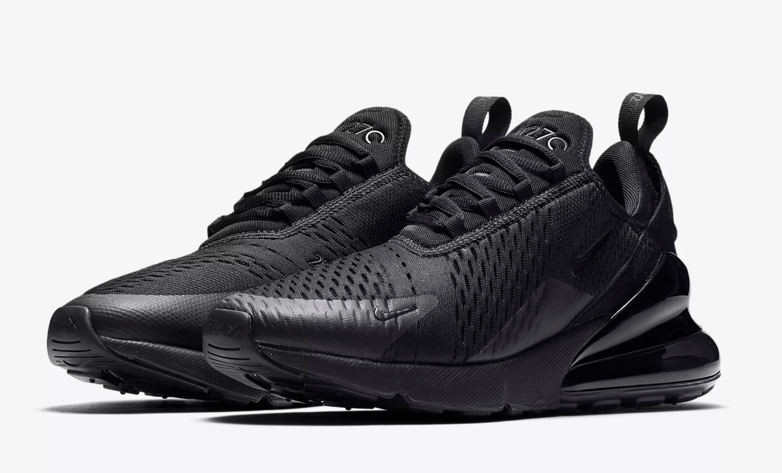 04cab13086cc Nike Air Max 270   AH8050 005 Triple Black Men SZ 7.5 13   Shoes ...