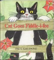 Cat Goes Fiddle-i-fee, illustrated by Paul Galdone