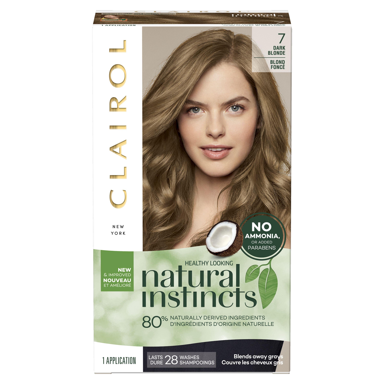 Clairol Natural Instincts Hair Color 4 Dark Brown Instincts Natural Clairol Semipermanente Colores Busqueda De Google