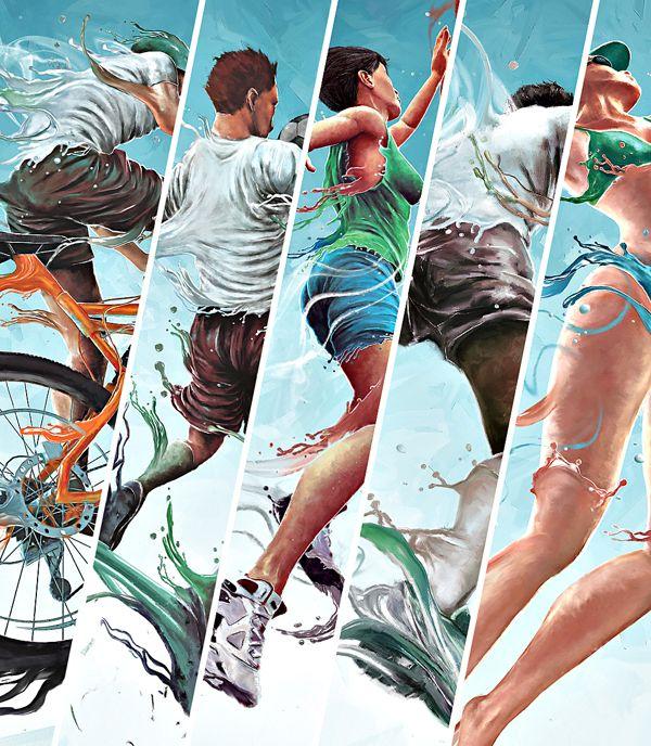 постер на тему спорта заболевание
