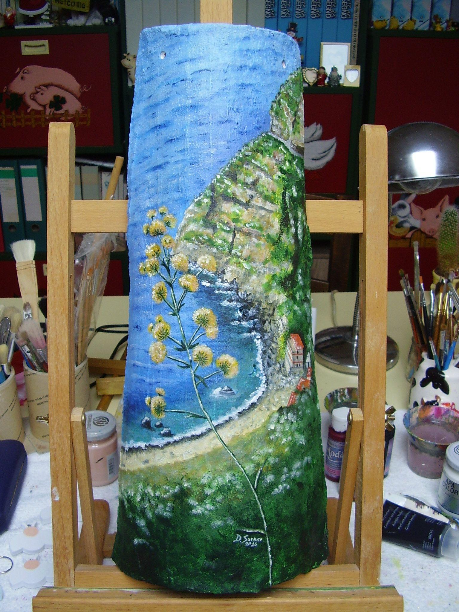 Come Dipingere Vecchie Tegole coppo artigianale dipinto a mano (con immagini) | dipinti