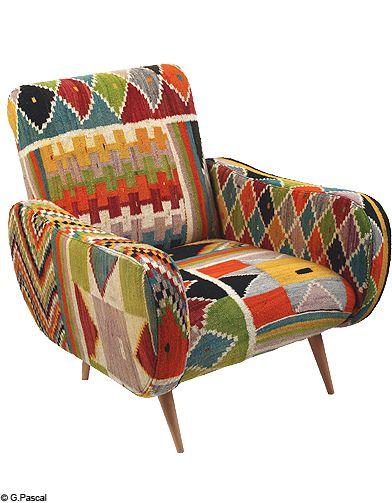 Decoration gide shopping tendance neo ethnique fauteuil rock the kasbath - Le…