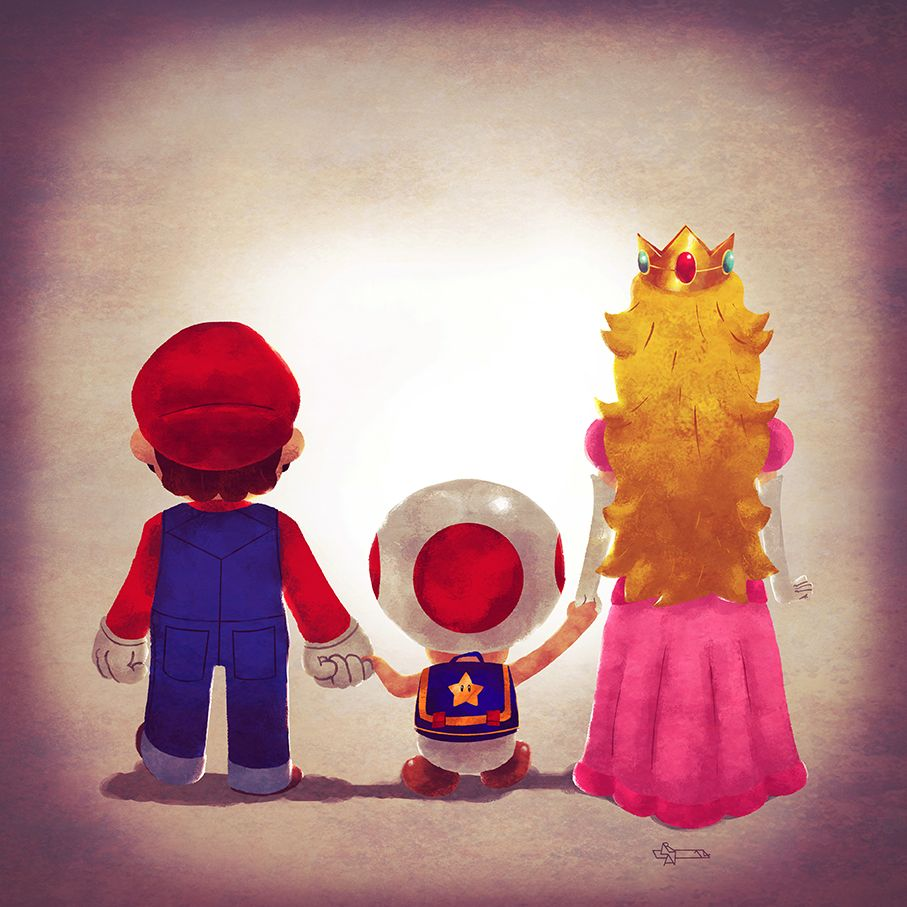 Mario Family Video game characters, Game character, Geek art