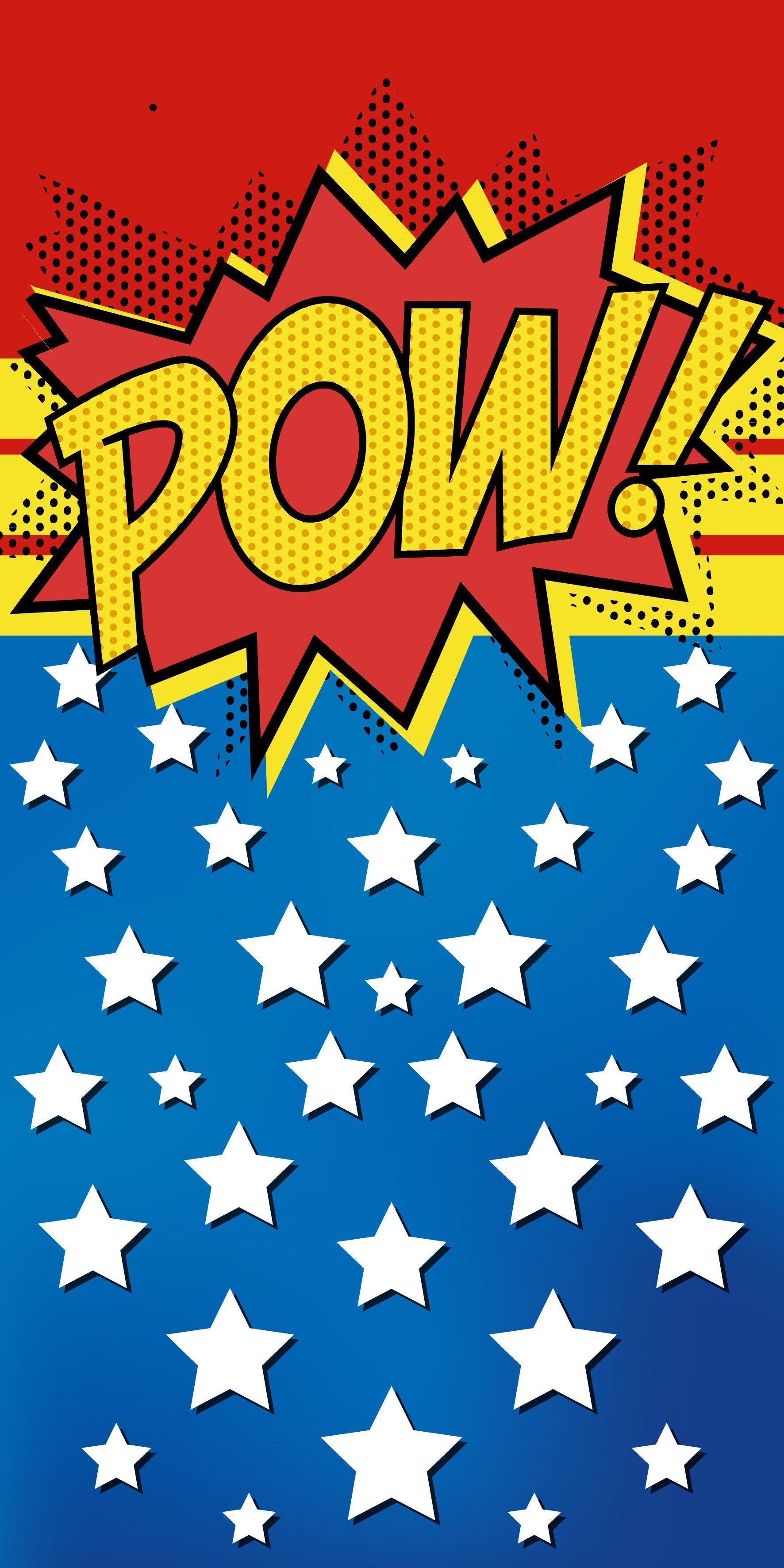 Pow Casetify Iphone Art Design Comic Illustration Artpop Pop Art Kunst Gemälde