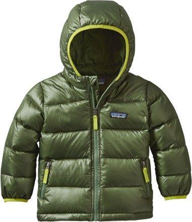 35646bd40541 Patagonia Boy s Hi-Loft Down Sweater Hoodie Jacket - Toddler Boys ...