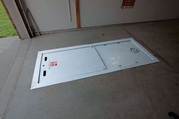 Garage Floor Storm Shelter Plans: Pin By Give It A Go On Car Repair Pit