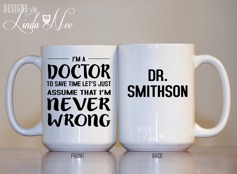 Doctor coffee mug funny doctor mug gift for doctor