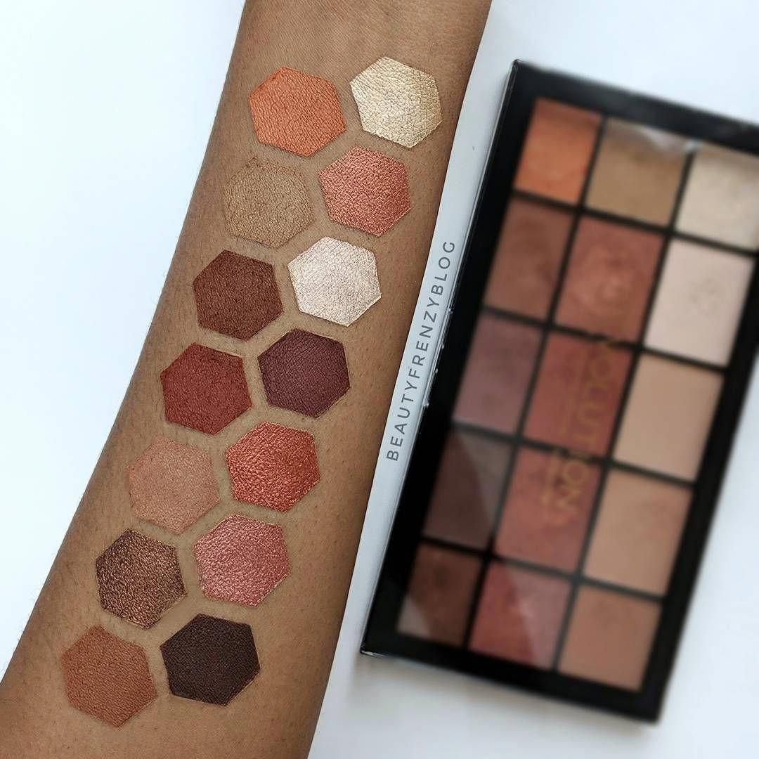 MUR Reloaded Iconic Fever palette UD Naked Heat dupe