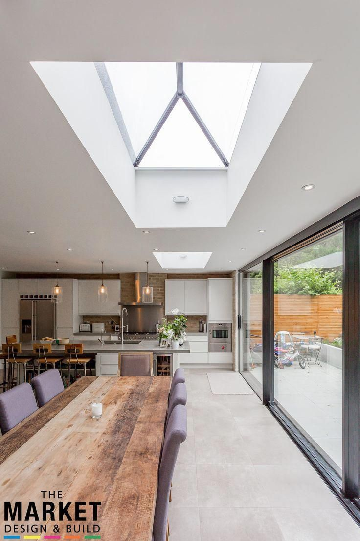 Stunning north london home extension and loft conversion: dining room by the market design & build images