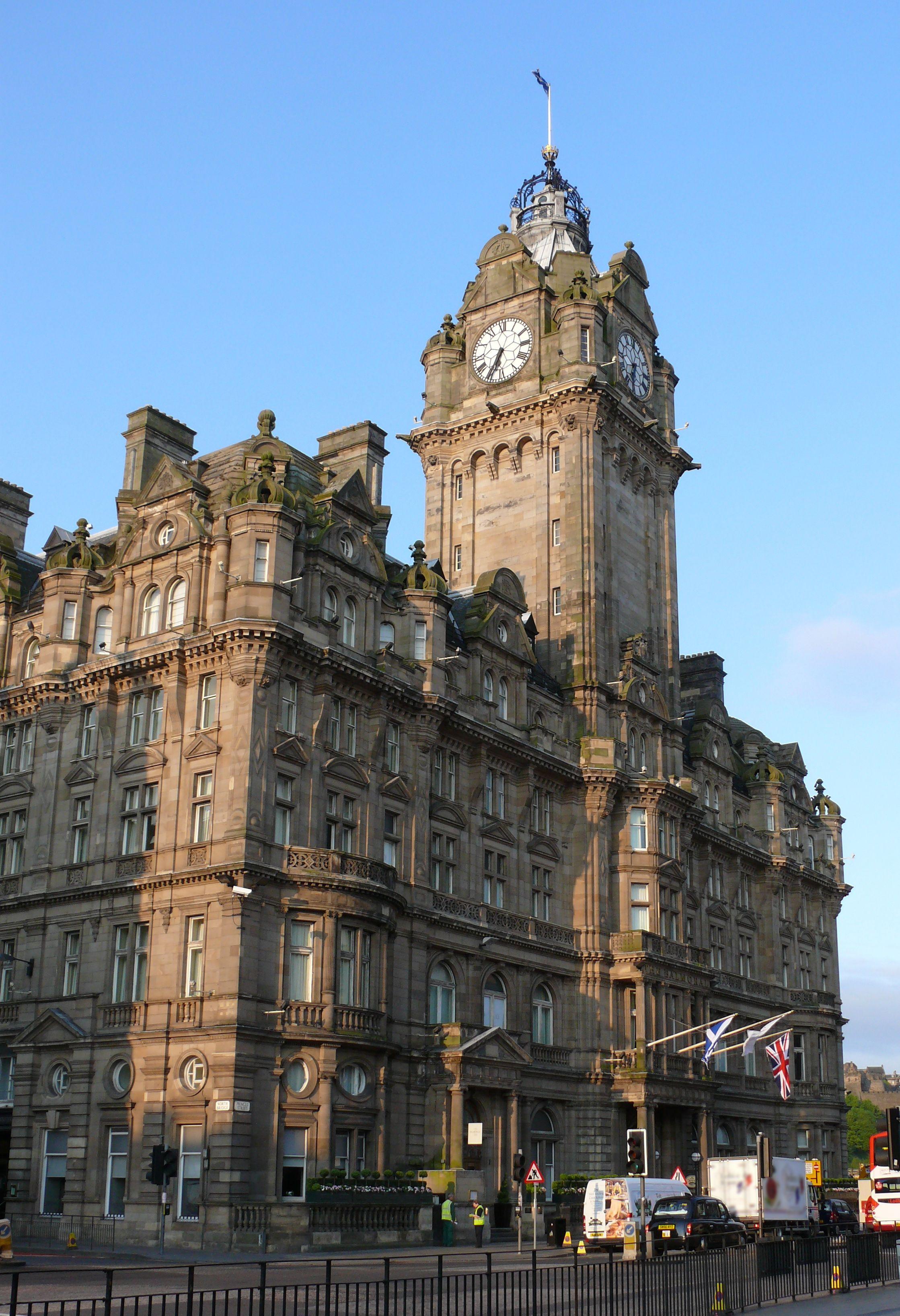 Balmoral Hotel Edinburgh Scotland Click