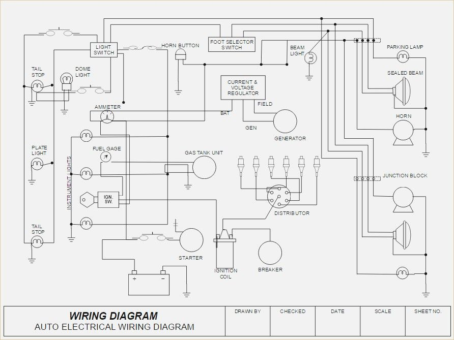 How To Draw Electrical Diagrams And Wiring Diagrams Diagram Circuit Diagram Electrical Diagram