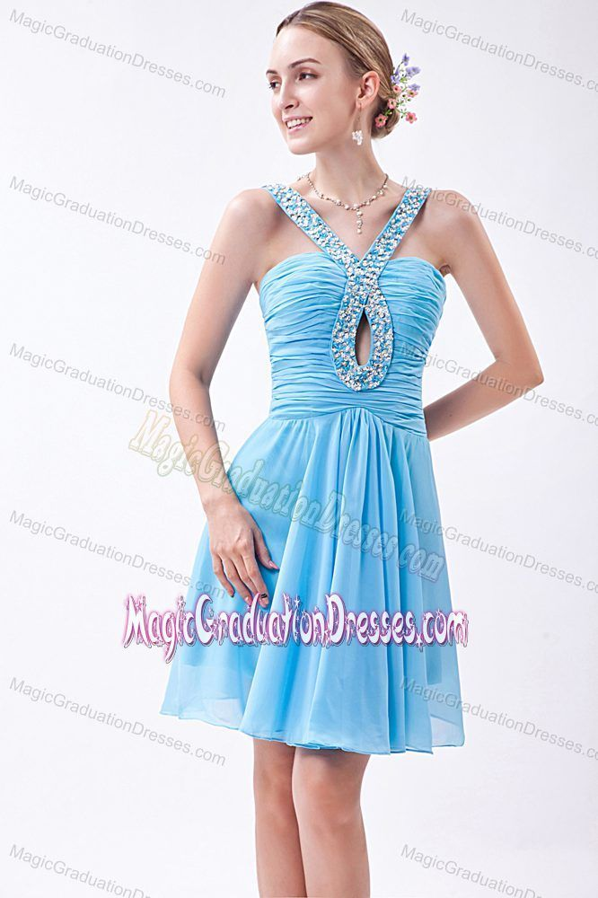 V-neck Beading Baby Blue Ruched Chiffon Vail Graduation Dress   - 2014 Flossy Graduation Dress on Sale in Summer - #Baby #Beading #Blue #Chiffon #Dress #Flossy #graduation #Ruched #Sale #Summer #Vail #Vneck #graduationdresscollege V-neck Beading Baby Blue Ruched Chiffon Vail Graduation Dress   - 2014 Flossy Graduation Dress on Sale in Summer - #Baby #Beading #Blue #Chiffon #Dress #Flossy #graduation #Ruched #Sale #Summer #Vail #Vneck #graduationdresscollege