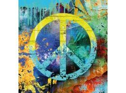 Peace Decoupage Napkin