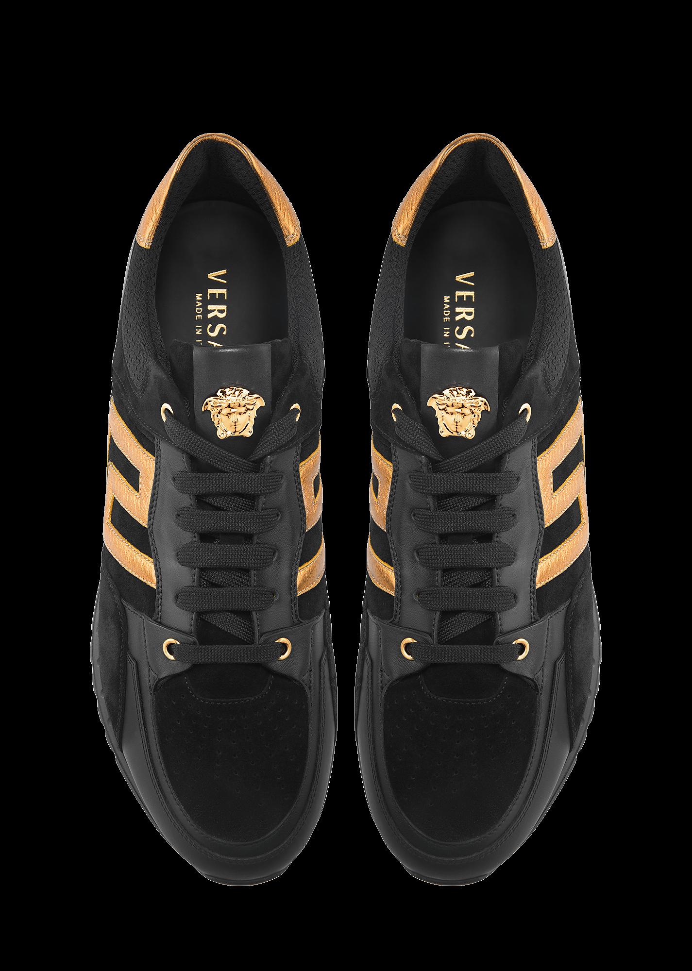 quality design aeba5 08fe9 Versace GREEK KEY RUNNING SHOE for Men   Official Website