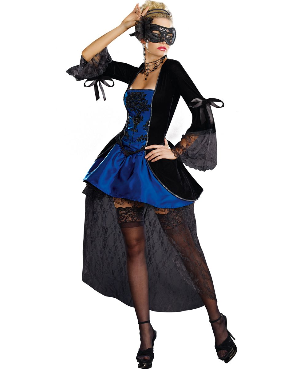 Masquerade Blue Adult Womens Costume   Costume Ideas   Pinterest ...