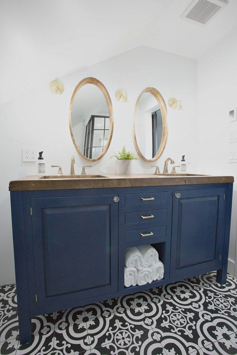 5 Beautiful Bathroom Makeovers A Orc Round Up Creative Ideas For Your Bathroom Bluesky Blue Bathroom Vanity Modern Master Bathroom Bathroom Vanity Makeover
