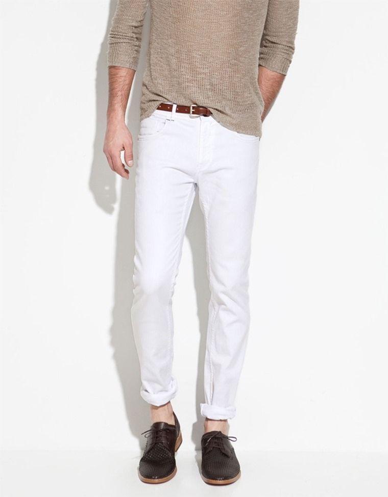 Combinar Pantalon Blanco Hombres Rafa Pantalon Blanco Hombres Pantalones Blancos Y Combinar Pantalon Blanco