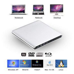 JY Store ブルーレイドライブ ボータブルドライブ 外付けドライブ USB3.0 DVDドライブ CDドライブ Blu-Ray/CD/ #bluray