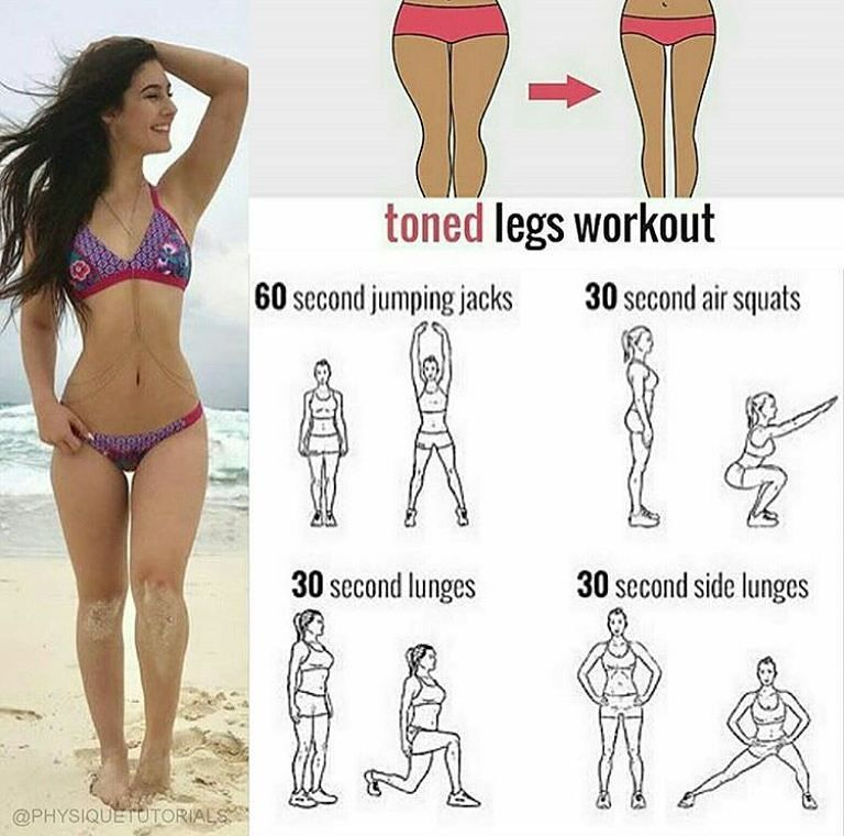 Tone Thighs Sexylegs Exercise Legs Girls Workout For More
