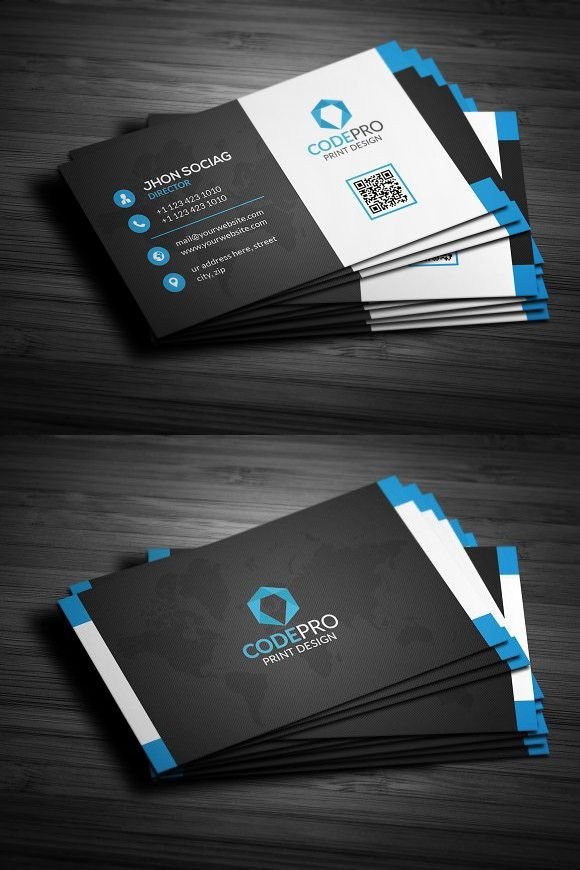 Modern creative business card creative business card templates modern creative business card creative business card templates flashek Images