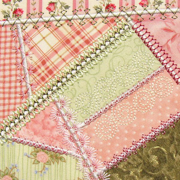 Decorative Embroidery Stitches: Crazy Quilting | Embroidery ... : how to sew a crazy quilt - Adamdwight.com