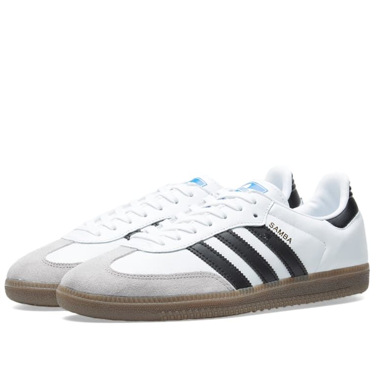 d176d4344d7a28 Adidas Samba OG White