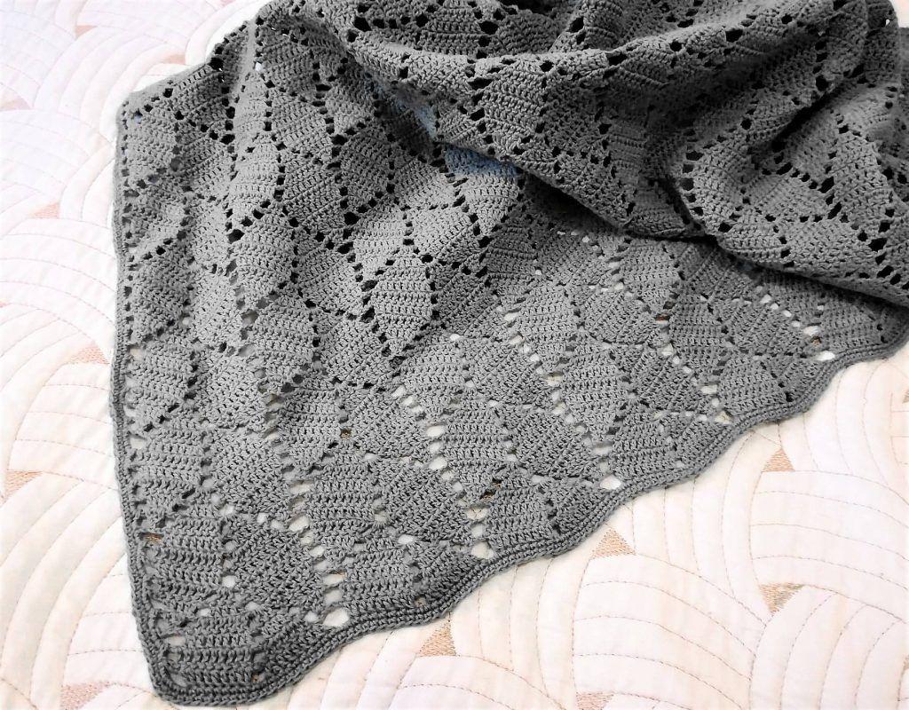 Baby Blanket Crochet Pattern Free #haken