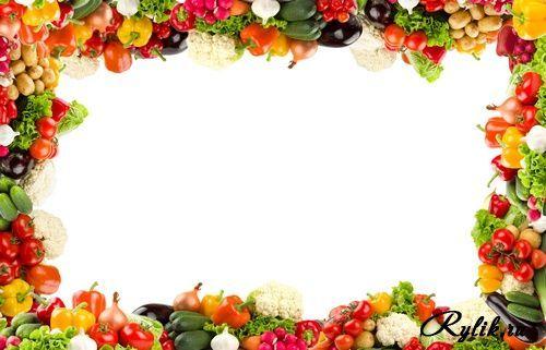 Ramki Cvety Google Kereses Fruit Wallpaper Food Border Fruit Decorations
