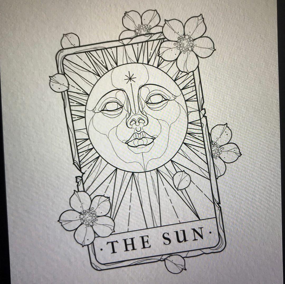 Jacob lennon on instagram the sun tarot i still have