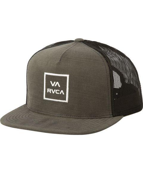 RVCA Womens Va All The Way Trucker Hat Baseball Cap