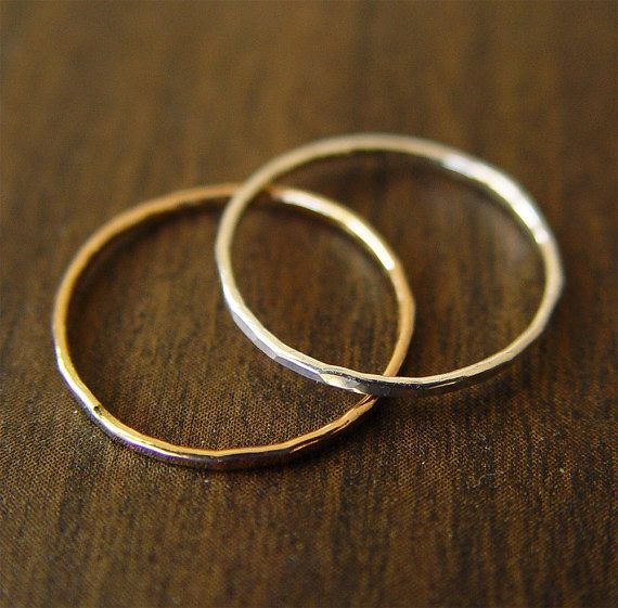 One Option For Temporary Wedding Bands Wedding Band Gold Ring Set