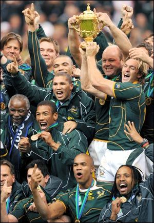 2007 Rugby World Cup The 2nd One After The 1995 World Cup Springbok Rugby Rugby Union Teams Rugby Team