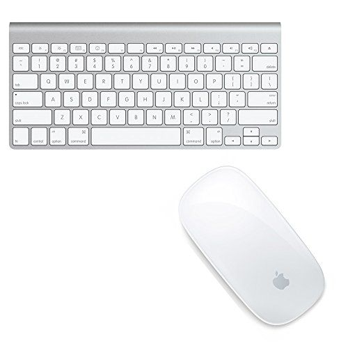 12134eaad9f Apple Wireless Keyboard with Apple Magic Bluetooth Mouse (Certified  Refurbished) Apple Wireless Keyboard For use with your Mac as well as your  iPod, ...