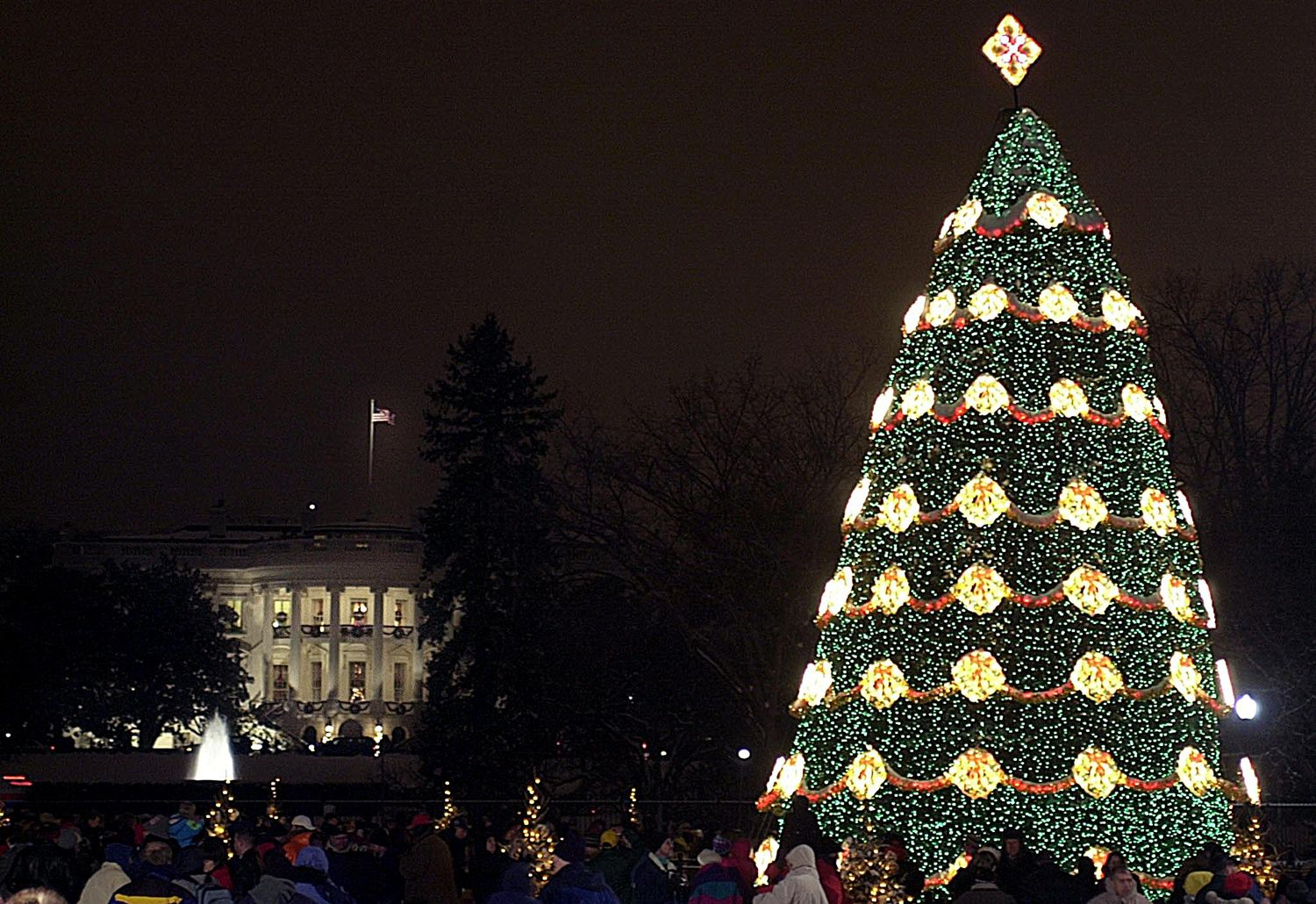 80 years of christmas at the white house - White House Christmas Tree Lighting