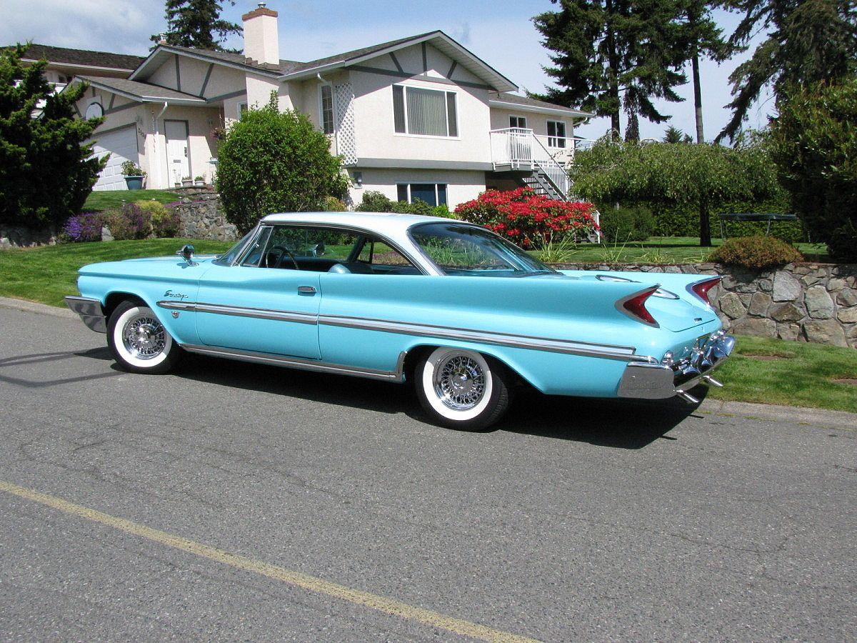 1960 Chrysler Windsor Golden Lion | Cars | Pinterest | Golden lions ...