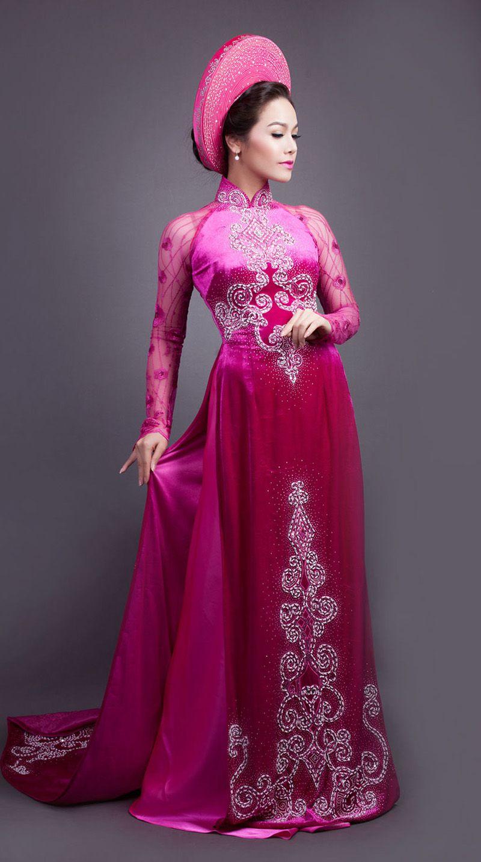 Vietnamese long dress ao dao pinterest ao dai asian ladies