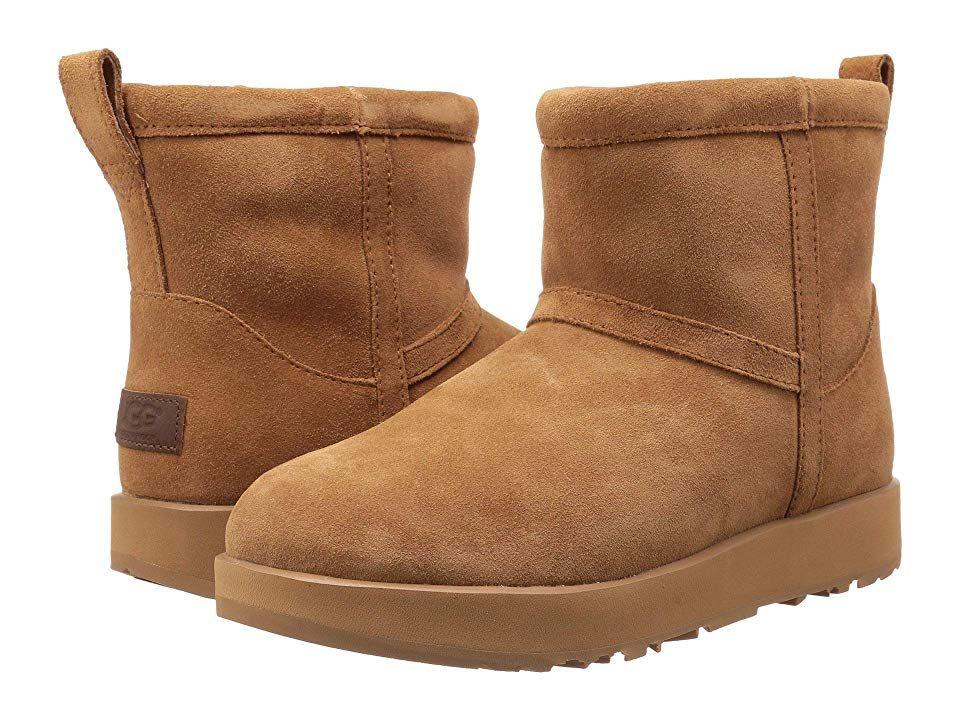6cfb8607591 UGG Classic Mini Waterproof (Chestnut) Women's Boots. This shoe runs ...