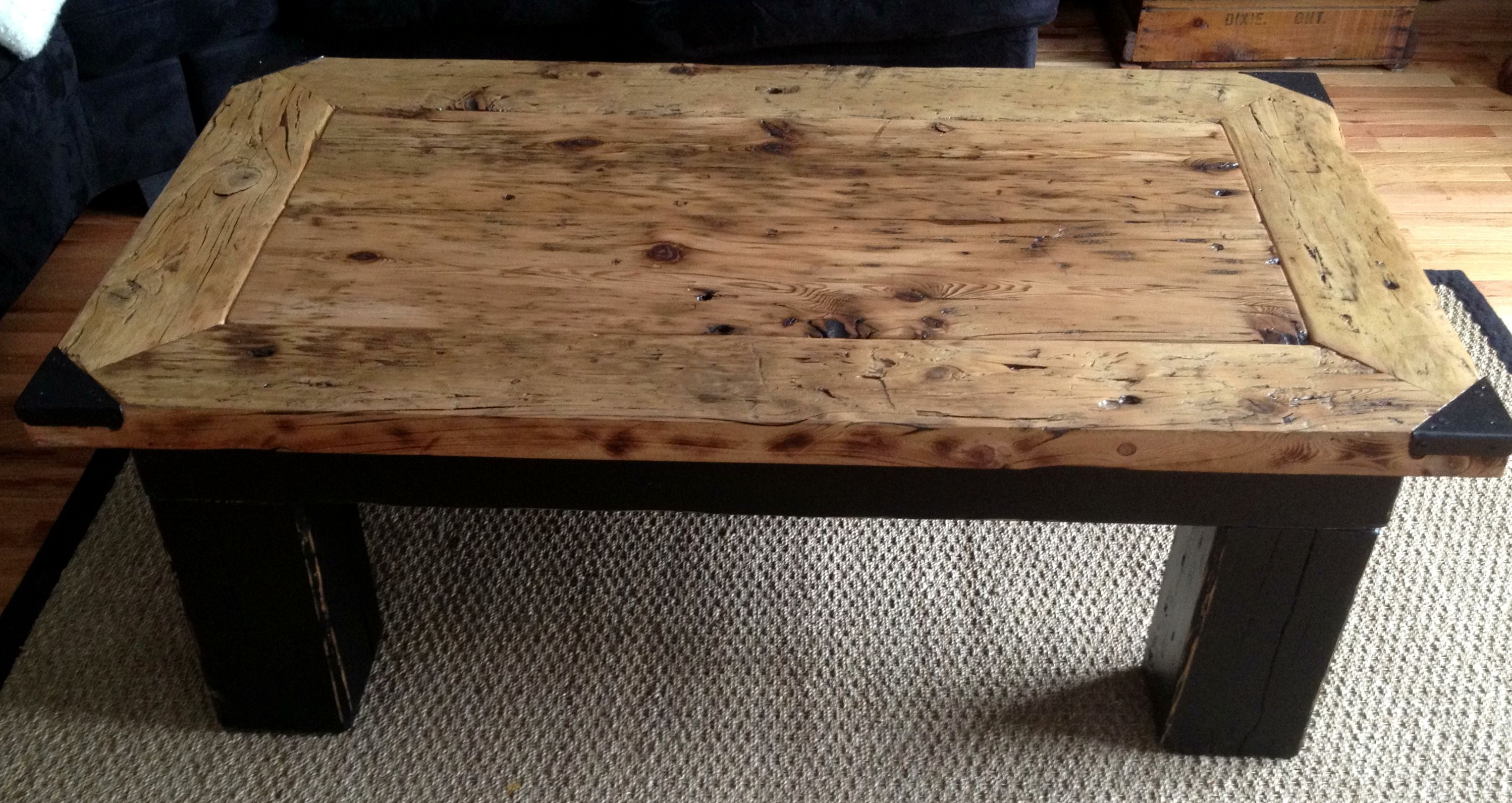 barn board coffee table - Barn Board Coffee Tables