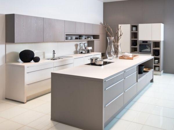 Helle Farbnuancen Modernes Küchen Design Nolte
