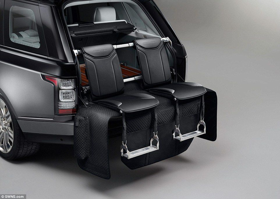 090ad3582bff Range Rover SVAutobiography  Stowed in the boot and hand-crafted from  Windsor leather