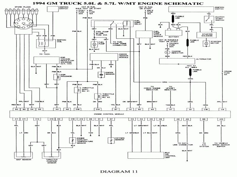 93 s10 pickup wiring diagram