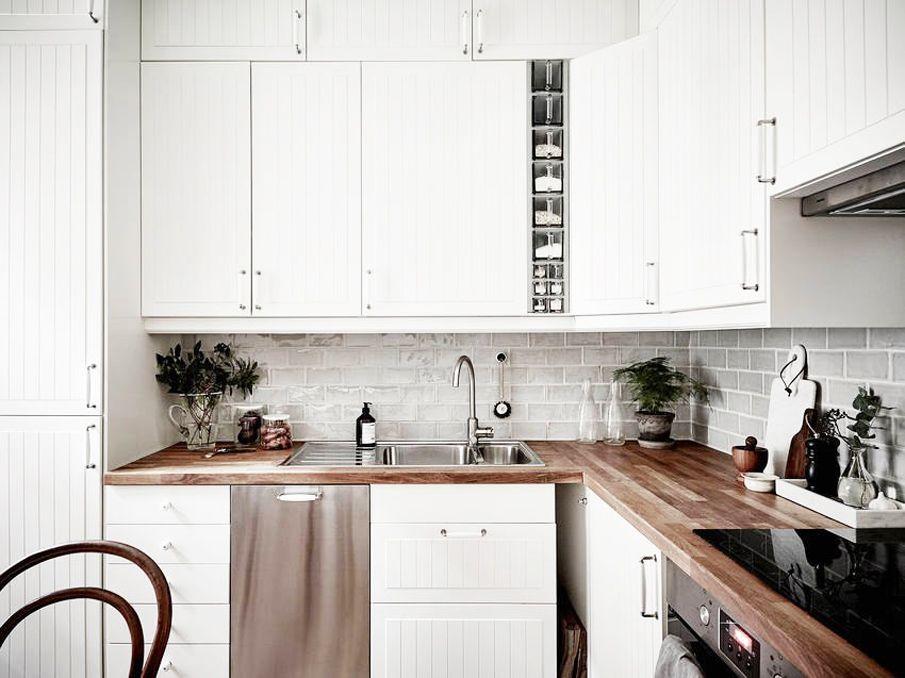 кухня в скандинавском стиле северный минимализм в дизайне кухня в