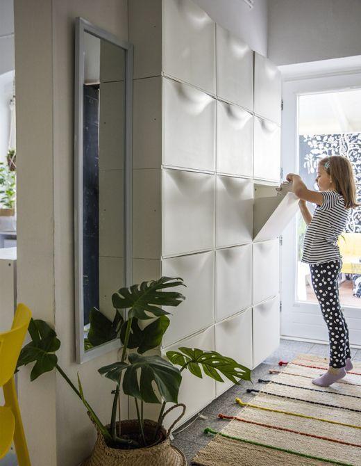 Stauraum für kleine Räume #hallway