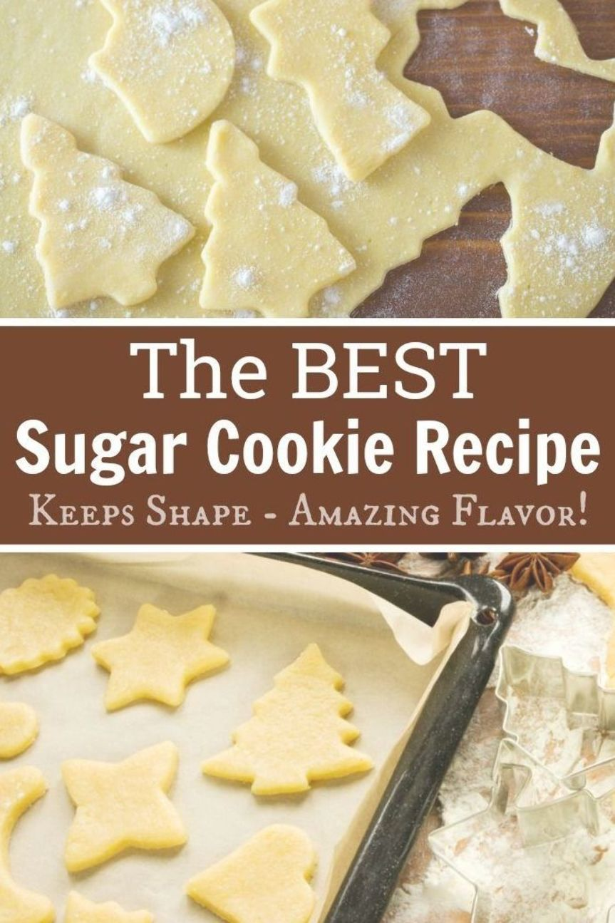 Best Sugar Cookie Recipe EVER for Christmas or any Holiday