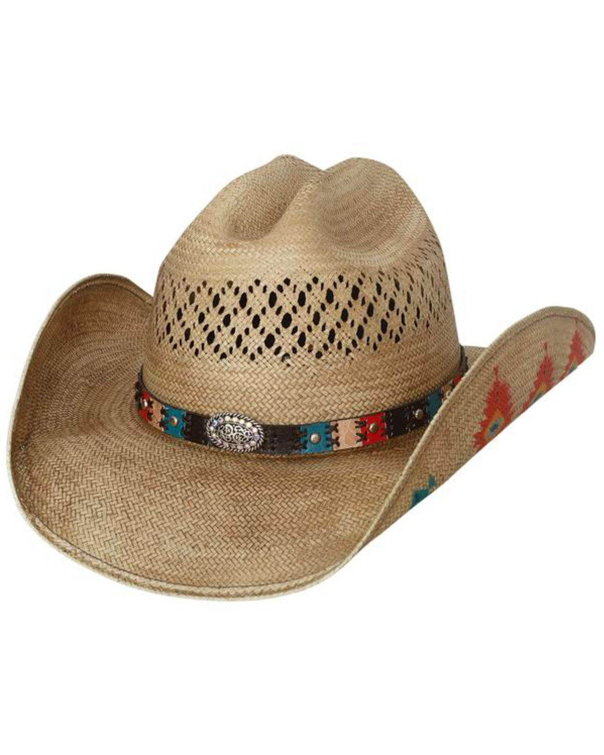 7b030b3d4 Bullhide Women's Custer Trail Painted Aztec Cowgirl Hat in 2019 | My ...