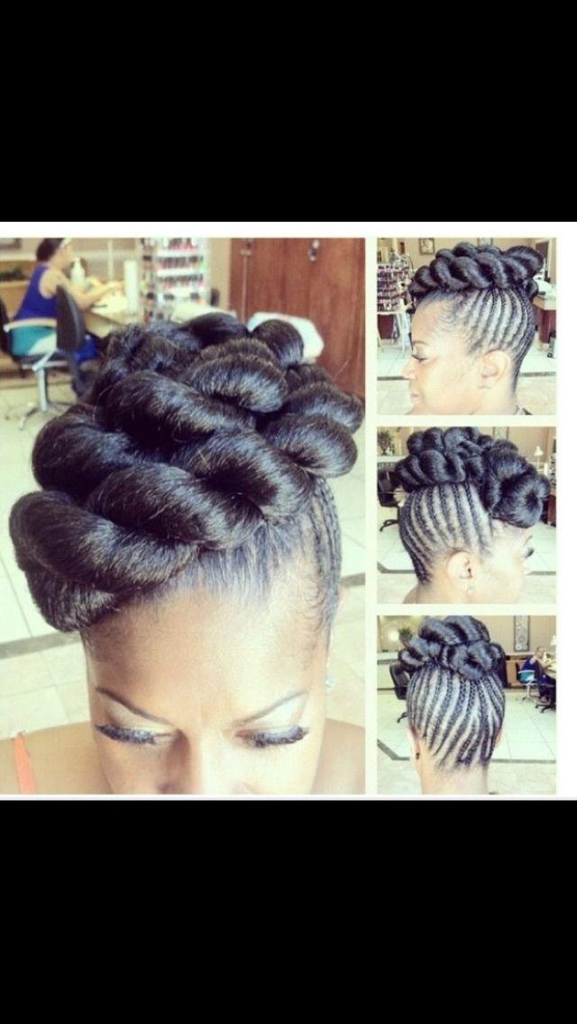 Janelle Monae Inspired Natural Hair Wedding Natural Hair Styles Hair Styles