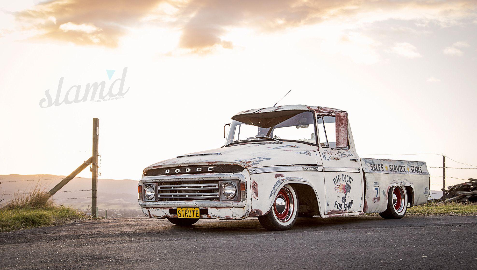 Junkyard Dog: Australia\'s Ultimate Mash Up - 1974 Dodge Pickup ...
